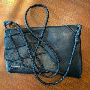 NIXON Crossbody Braid Cord Asymmetrical Bag Purse